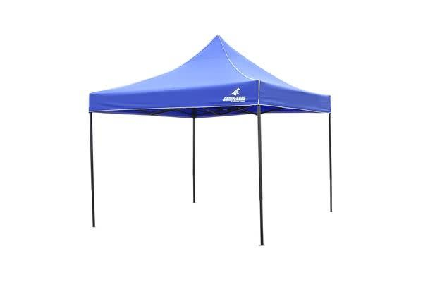 3x3m Gazebo Frame + Roof - BLUE