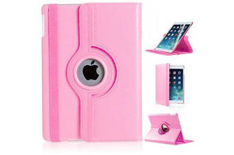 360 Rotate Leather Case Cover Apple iPad 7th 10.2 Inch 2019-LightPink