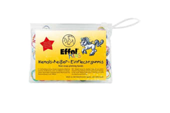 Effol Childrens/Kids Non Snap Plaiting Bands (Multicoloured)