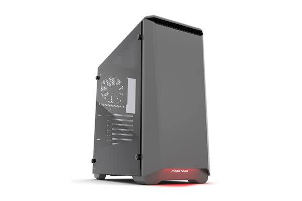 Phanteks Eclipse P400 Tempered Glass Mid Tower Case, Anthracite Grey Edition