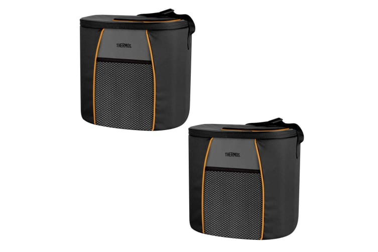 2PK Thermos Element E5 24 Can Insulated Cooler Bag Carry Picnic Storage w  Strap