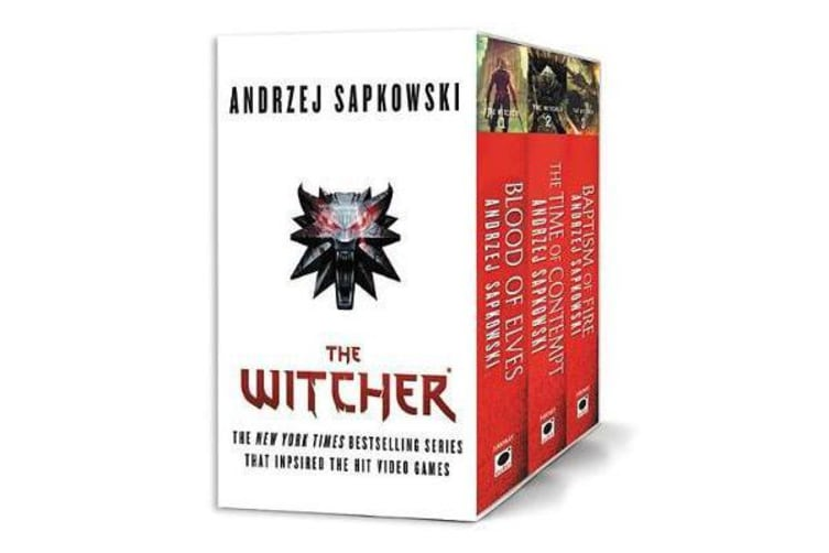 The Witcher Boxed Set - Blood of Elves, the Time of Contempt, Baptism of Fire
