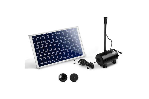 1600L/H Submersible Water Fountain Pump with Solar Panel