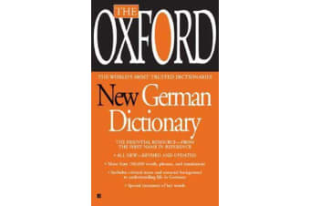 Oxford New German Dictionary