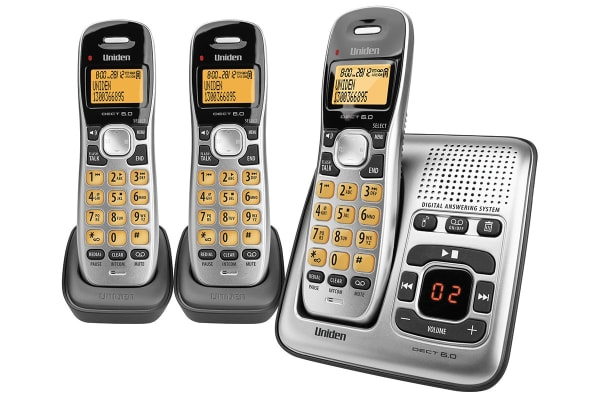 Uniden DECT1735 Digital Phone System With Power Failure Backup (Triple Pack)