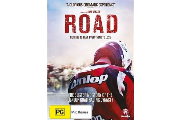 Road - Motorcycle road racing Documentary - Region 4 Rare- Aus Stock Preowned DVD: DISC LIKE NEW