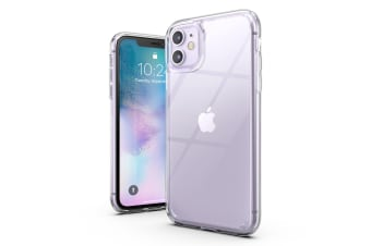 VERTECH Ultra Hybrid Shockproof Slim Hard Cover for iPhone 11 Pro Max-Clear