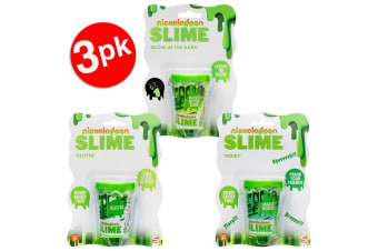 3x Nickelodeon Pot of Slime Assorted