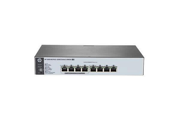 HP OfficeConnect 1820 8G PoE+ Web Managed Ethernet Switch