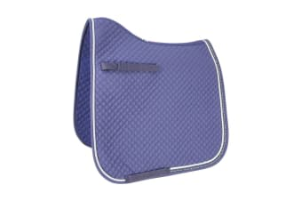 HyWITHER Diamond Touch Dressage Pad (Navy) (Cob/Full)