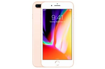 Used as Demo Apple iPhone 8 Plus 64GB 4G LTE Gold (100% GENUINE + AUSTRALIAN WARRANTY)