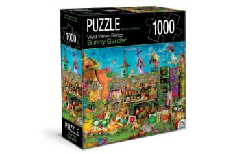 1000pc Crown Vivid Views Series Sunny Garden 68.6x50.8cm Jigsaw Puzzle Toy 15y+