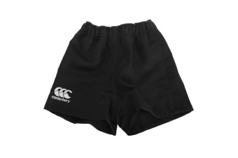 Canterbury Childrens/Kids Professional Elasticated Sports Shorts (Black) (6)