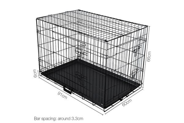 36inch Collapsible Pet Cage (Black)