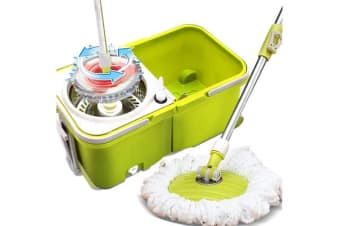 360 degree Spin Rotating Mops & Bucket Set