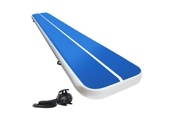 Everfit GoFun 5MX1M Inflatable Air Track Mat Tumbling Floor Home Gym