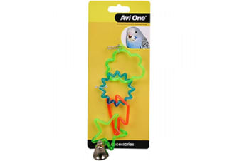 Avi One Bird Toy Sky Rings with Bell