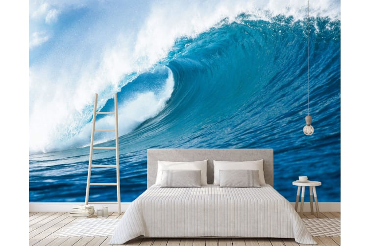 3D Ocean Waves 146 Wall Murals Woven paper (need glue), XL 208cm x 146cm (WxH)(82''x58'')