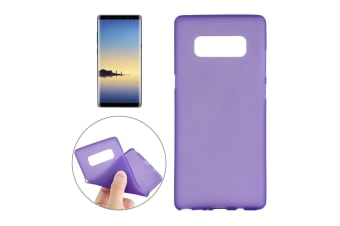 For Samsung Galaxy Note 8 Back Case Stylish High-Quality Protective Cover Purple