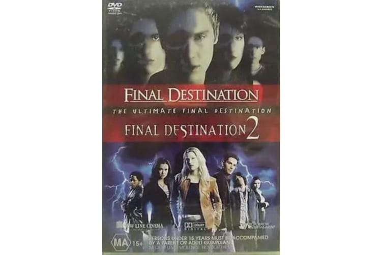The Ultimate Final Destination - Final Destination 1+2 - Region 4 Preowned DVD: DISC LIKE NEW