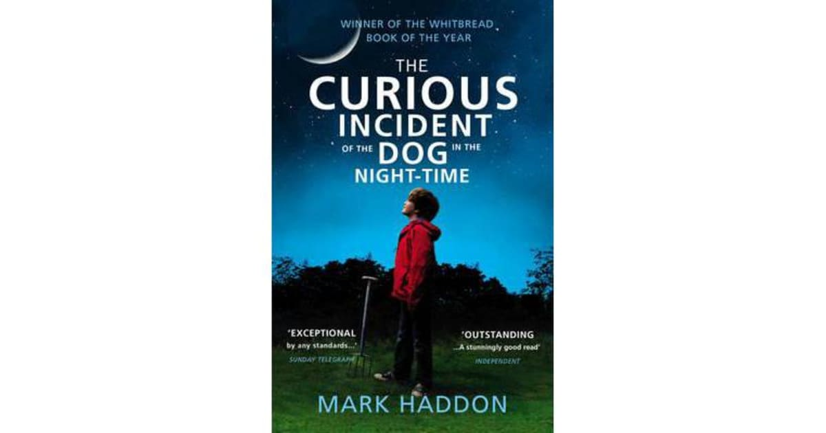 how does mark haddon use the first person narration in the curious incident of the dog in the night