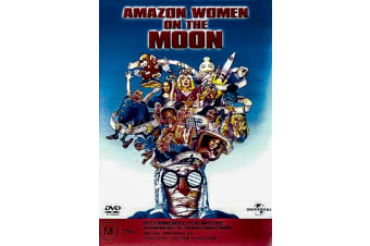 AMAZON WOMEN ON THE MOON -Animated Rare- Aus Stock DVD Preowned: Excellent Condition