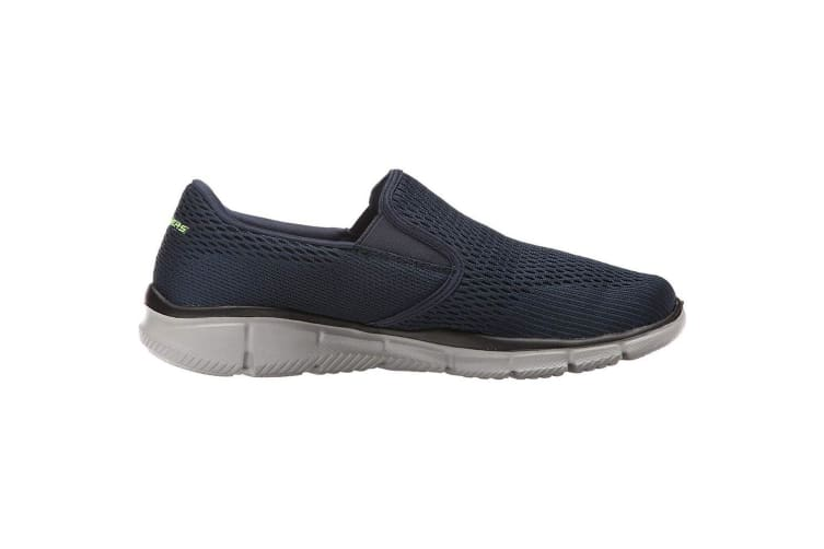 Skechers Mens Equalizer Double Play Slip On Memory Foam Shoes (Navy) (11 UK)