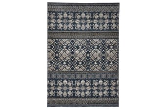 Urban Tribe Designer Runner Rug Blue