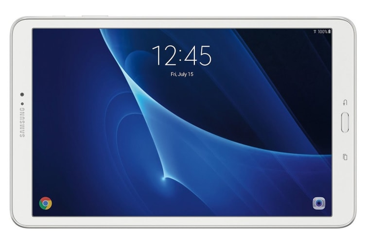 Samsung Galaxy Tab A 10.1 T580 Refurbished (16GB, Wi-Fi, White) - AB Grade