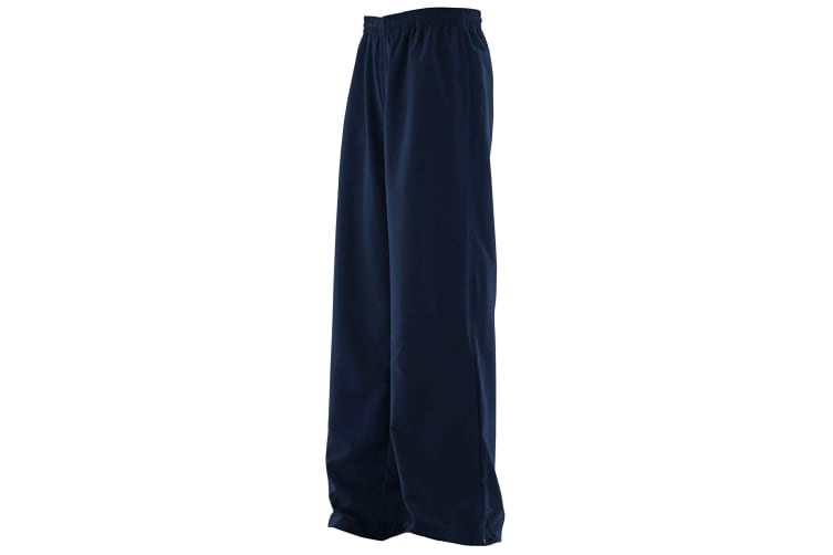 Finden & Hales Womens/Ladies Sports Track Pants / Tracksuit Bottoms (Navy) (M)