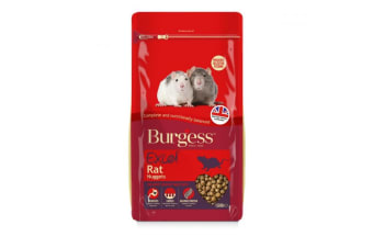 Burgess Excel Rat Food Nuggets (May Vary)
