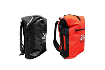 Land & Sea 30L Dry Bag Heavy Duty Dry Backpack Bag - Red