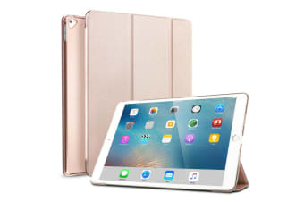 For iPad Pro 12.9 Inch 2017 PU Leather Case Cover For iPad Pro-Rose Gold
