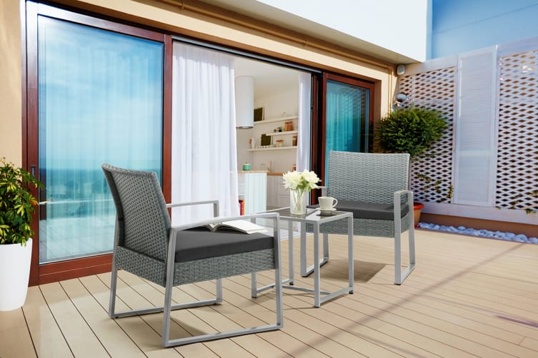 Shangri-La 3 Piece Balcony Set