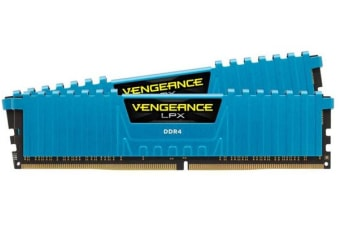 Corsair Vengeance LPX 16GB (2x8GB) DDR4 3000MHz C15 Desktop Gaming Memory Blue