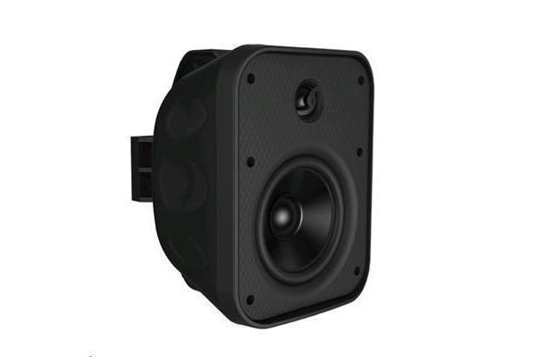 "LUMI AUDIO OWM-5 5.25"" 2-way Outdoor Wall Mount Speaker. RMS Power 60W. Black"
