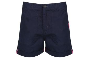 Regatta Childrens/Kids Damzel Shorts (Navy) (11-12 Years)