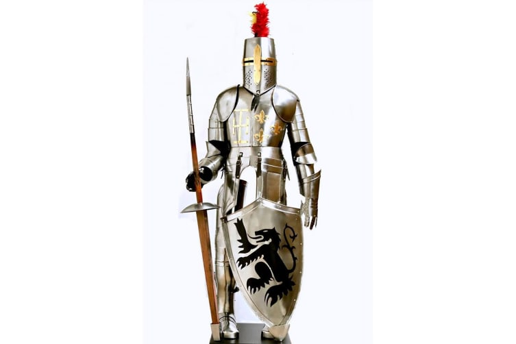 Medieval Knight Full Scale Suit of Armour