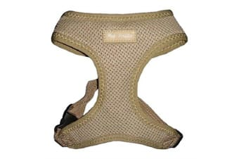Hip Doggie Ultra Comfort Harness Vest (Tan)