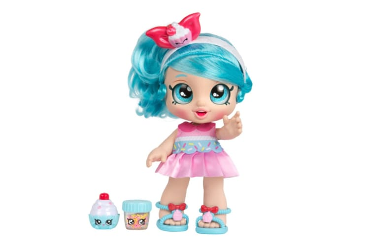 Kindi Kids Snack Time Friends Jessicake Doll