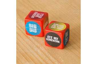 Excuse Dice - Hilarious Excuses at your Fingertips!