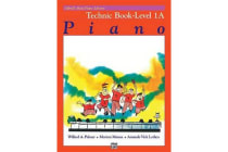 Alfred's Basic Piano Library Technic, Bk 1a