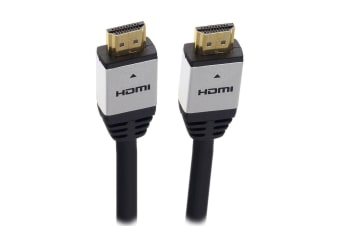 Moki HDMI 1.5m High Speed Ultra Full HD/1080 4K Cable w/Gold Plated Ethernet BK