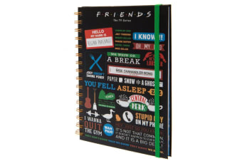 Friends Notebook (Multicoloured)