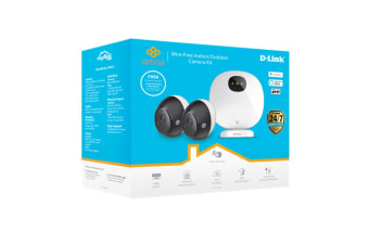 D-Link Omna Wire-Free Indoor & Outdoor Camera Kit (DCS-2802KT)