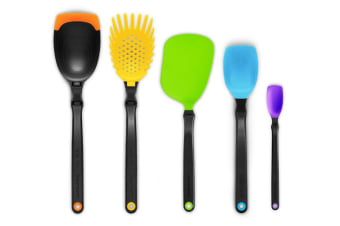 Dreamfarm Set of the Best 5 Utensils Party Mixed Colours