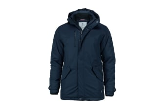 Nimbus Mens Avondale Water Resistant Winter Jacket (Navy)