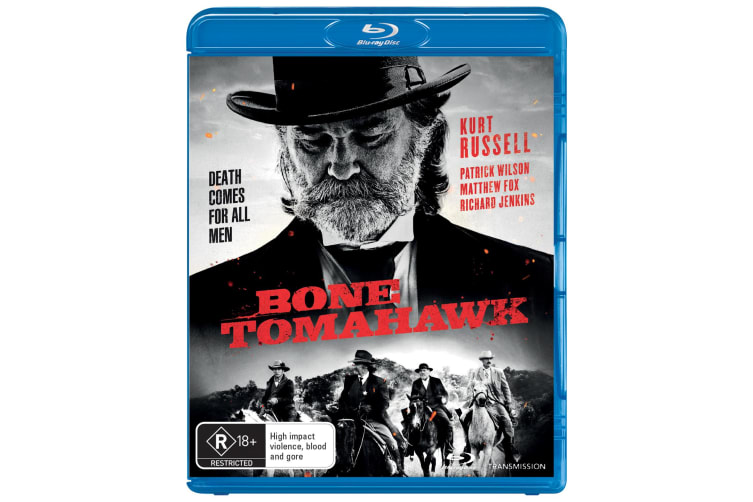 Bone Tomahawk Blu-ray Region B