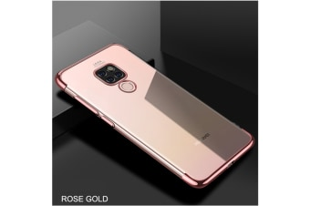 Soft Transparent Tpu Cover Ultra Thin Clear Shell For Huawei Rose Gold Huawei Honor9Lite