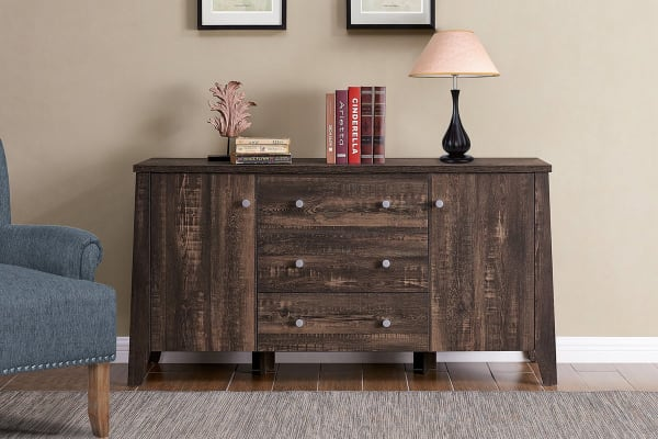 Shangri-La 3 Drawer 2 Door Buffet - Camden Collection (Dark Oak)